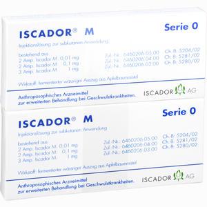 Abbildung von Iscador M Serie 0 Ampullen 14 x 1 ml