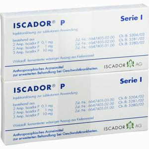 Abbildung von Iscador P Serie I Ampullen 14 x 1 ml
