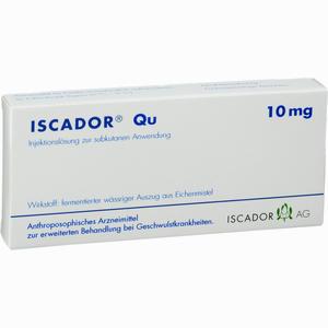 Abbildung von Iscador Qu 10mg Ampullen 7 x 1 ml