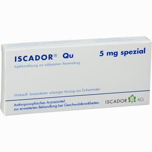 Abbildung von Iscador Qu 5mg Spezial Ampullen 7 x 1 ml