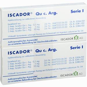 Abbildung von Iscador Qu C. Arg Serie I Ampullen 14 x 1 ml
