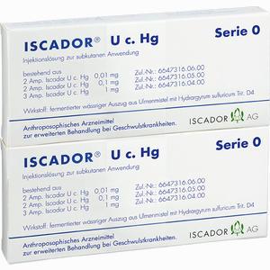 Abbildung von Iscador U C Hg Serie 0 Injektionslösung 14 x 1 ml