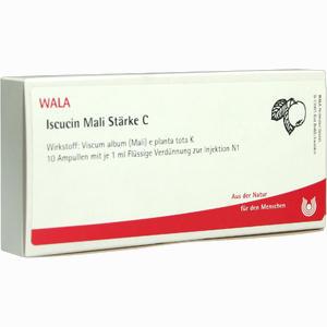 Abbildung von Iscucin Mali Staerke C Ampullen 10 x 1 ml