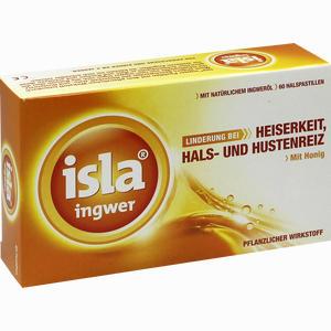 Abbildung von Isla- Ingwer Pastillen  60 Stück