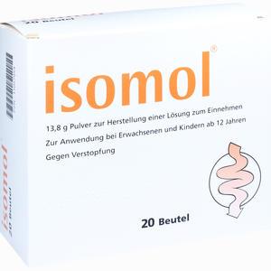 Abbildung von Isomol Pulver  20 Stück