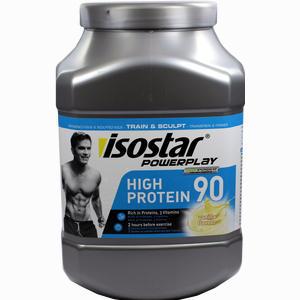 Abbildung von Isostar Powerplay High Protein 90 Vanille Pulver 750 g