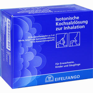 Abbildung von Isotonische Kochsalzlösung zur Inhalation Inhalationslösung 20 x 5 ml