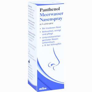 Abbildung von Jenapharm Panthenol Meerwasser Nasenspray  20 ml