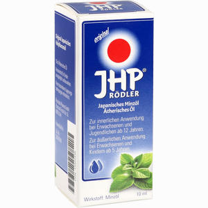 Abbildung von Jhp Rödler Japanisches Minzöl ätherisches Öl Aetherisches Öl 10 ml