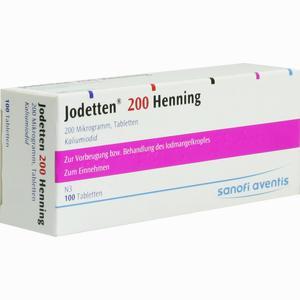 Abbildung von Jodetten 200 Henning Tabletten 100 Stück