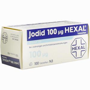 Abbildung von Jodid 100 Hexal Tabletten 100 Stück