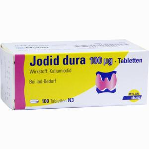 Abbildung von Jodid Dura 100ug Tabletten 100 Stück