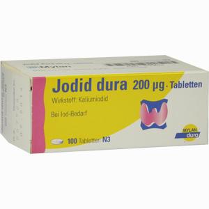 Abbildung von Jodid Dura 200ug Tabletten 100 Stück