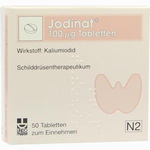 Abbildung von Jodinat 100ug Tabletten  50 Stück