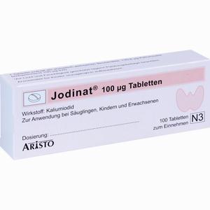 Abbildung von Jodinat 100ug Tabletten  100 Stück