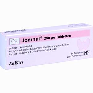 Abbildung von Jodinat 200ug Tabletten  50 Stück