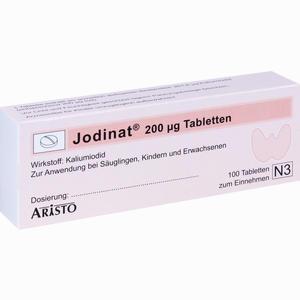 Abbildung von Jodinat 200ug Tabletten  100 Stück