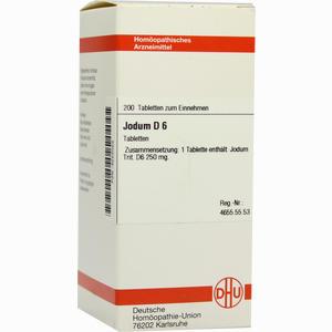 Abbildung von Jodum D6 Tabletten 200 Stück