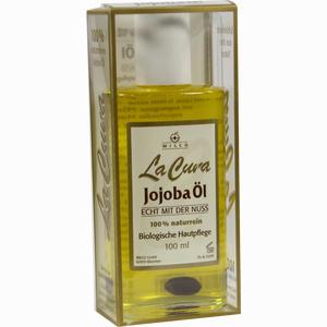 Abbildung von Jojoba Öl 100% Naturrein La Cura  100 ml