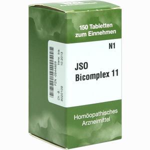Abbildung von Jso Bicomplex 11 Tabletten 150 Stück
