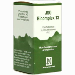 Abbildung von Jso Bicomplex 13 Tabletten 150 Stück