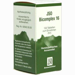 Abbildung von Jso Bicomplex 16 Tabletten 150 Stück