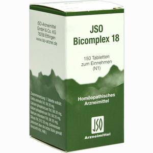 Abbildung von Jso Bicomplex 18 Tabletten 150 Stück
