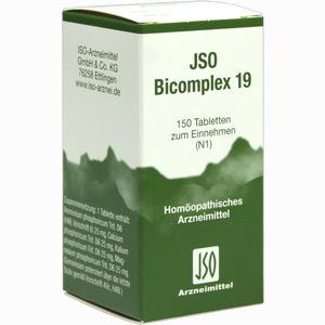 Abbildung von Jso Bicomplex 19 Tabletten 150 Stück