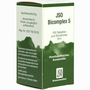 Abbildung von Jso Bicomplex 5 Tabletten 150 Stück