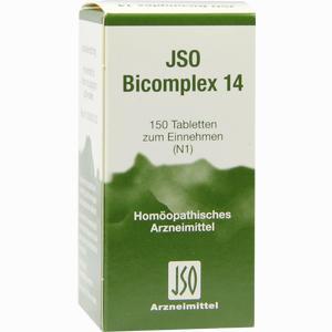 Abbildung von Jso Bicomplex Nr. 14 Tabletten  150 Stück
