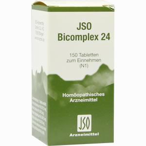 Abbildung von Jso Bicomplex Nr. 24 Tabletten  150 Stück