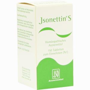 Abbildung von Jsonettin S Tabletten  150 Stück