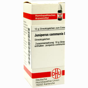 Abbildung von Juniperus Communis D12 Globuli 10 g