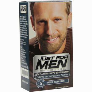 Abbildung von Just for Men Pflege-brush-in-color Natur Hellbraun Gel 28.4 ml