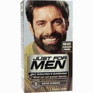 Abbildung von Just for Men Pflege-brush-in-color Natur Schwarz Gel 28.4 ml