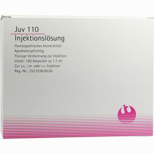Abbildung von Juv 110 Ampullen 100 x 1.1 ml
