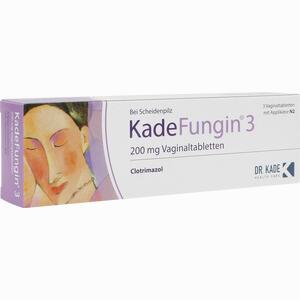 Abbildung von Kadefungin 3 Vaginaltabletten 3 Stück