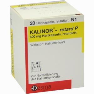 Abbildung von Kalinor Retard P Retardkapseln 20 Stück