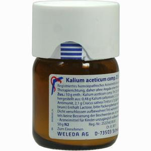 Abbildung von Kalium Acet Comp D3 Trituration 50 g