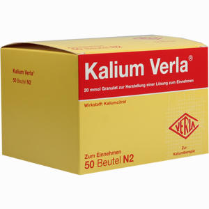 Abbildung von Kalium Verla Granulat  50 Stück