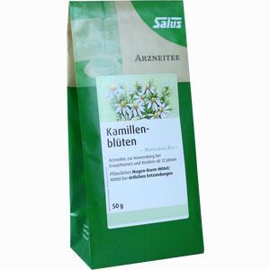 Abbildung von Kamillenblüten Bio Arzneitee Matricariae Flos Salus Tee 50 g