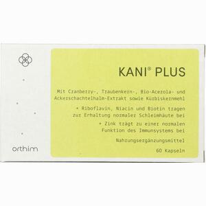Abbildung von Kani Plus + Kapseln 60 Stück