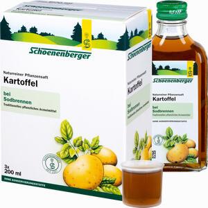 Abbildung von Kartoffel Schoenenberger Naturreiner Pflanzensaft Saft 3 x 200 ml