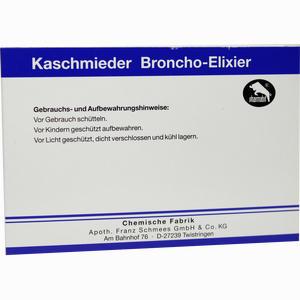 Abbildung von Kaschmieder Broncho- Elixier Vet  6 x 18 ml