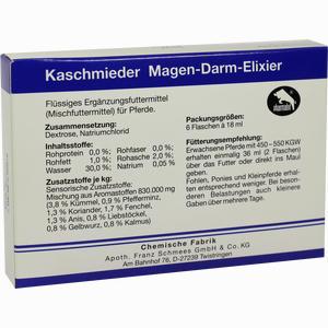 Abbildung von Kaschmieder Magen- Darm- Elixier Vet  6 x 18 ml