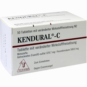 Abbildung von Kendural C Filmtabletten 50 Stück