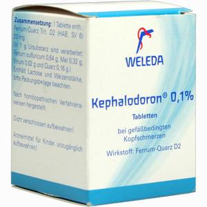 Abbildung von Kephalodoron 0.1% Tabletten 250 Stück