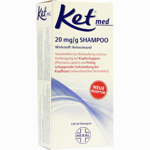 Abbildung von Ket Med 20mg/g Shampoo  120 ml