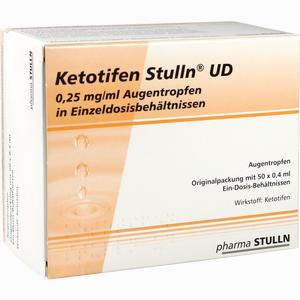 Abbildung von Ketotifen Stulln Ud Augentropfen Einzeldosispipetten 50 x 0.4 ml