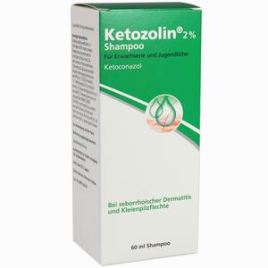 Abbildung von Ketozolin 2% Shampoo  60 ml